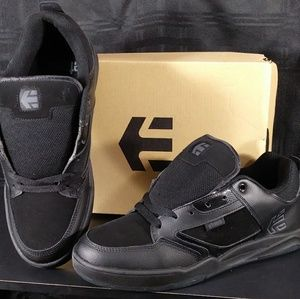 NIB! Etnies Cartel Unisex Skate Shoes Black/Black